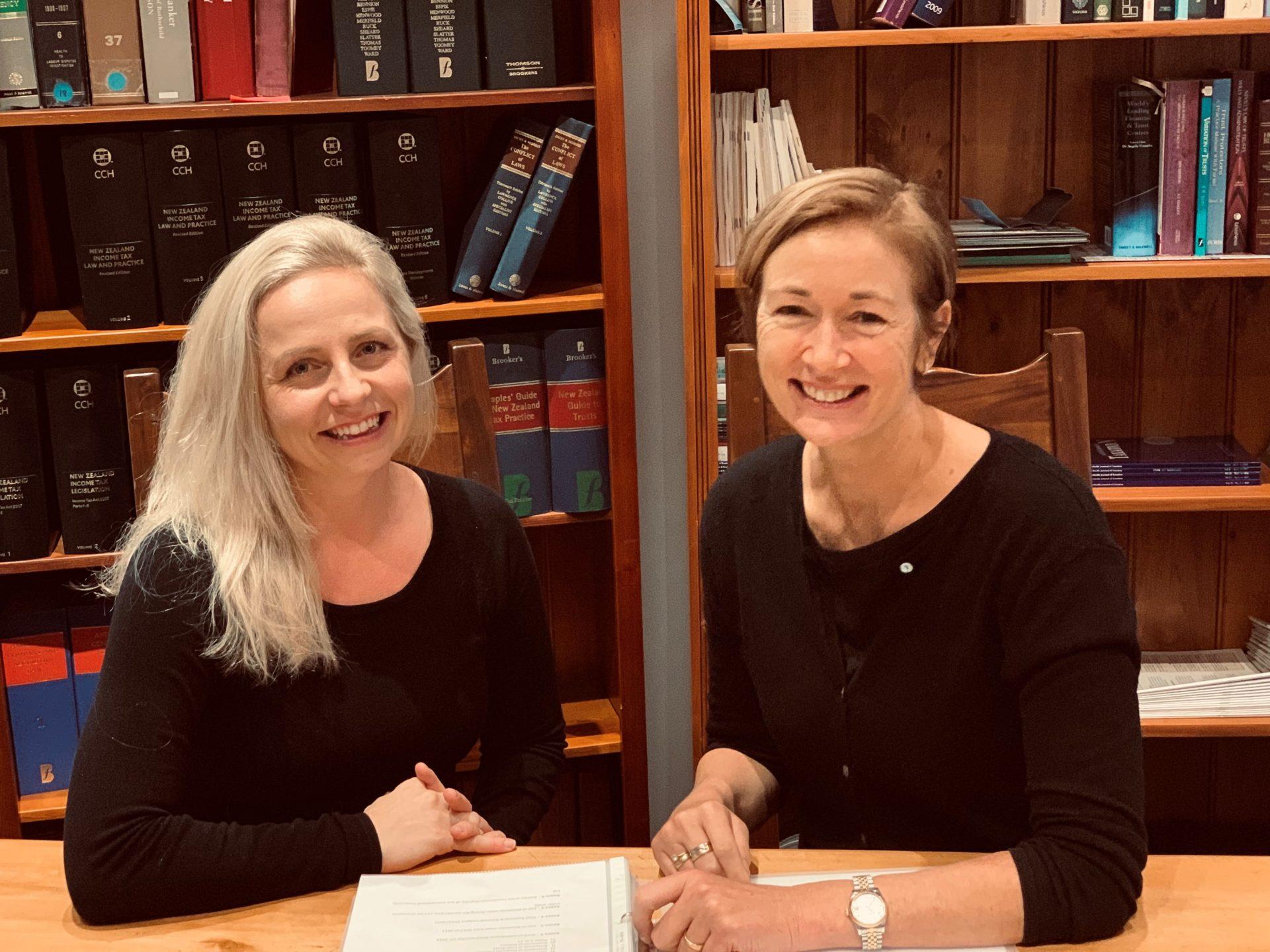 Caritas Pro Vitae Gradu - Ariane Slinger - Karen Marshall and Sharada Shaw