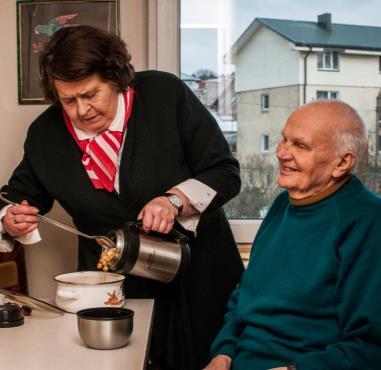 A Lifeline to Vulnerable Elderly People - Lithuania, Slovakia, Cuba , Caritas Pro Vitae Gradu Charitable Trust, Ariane Slinger