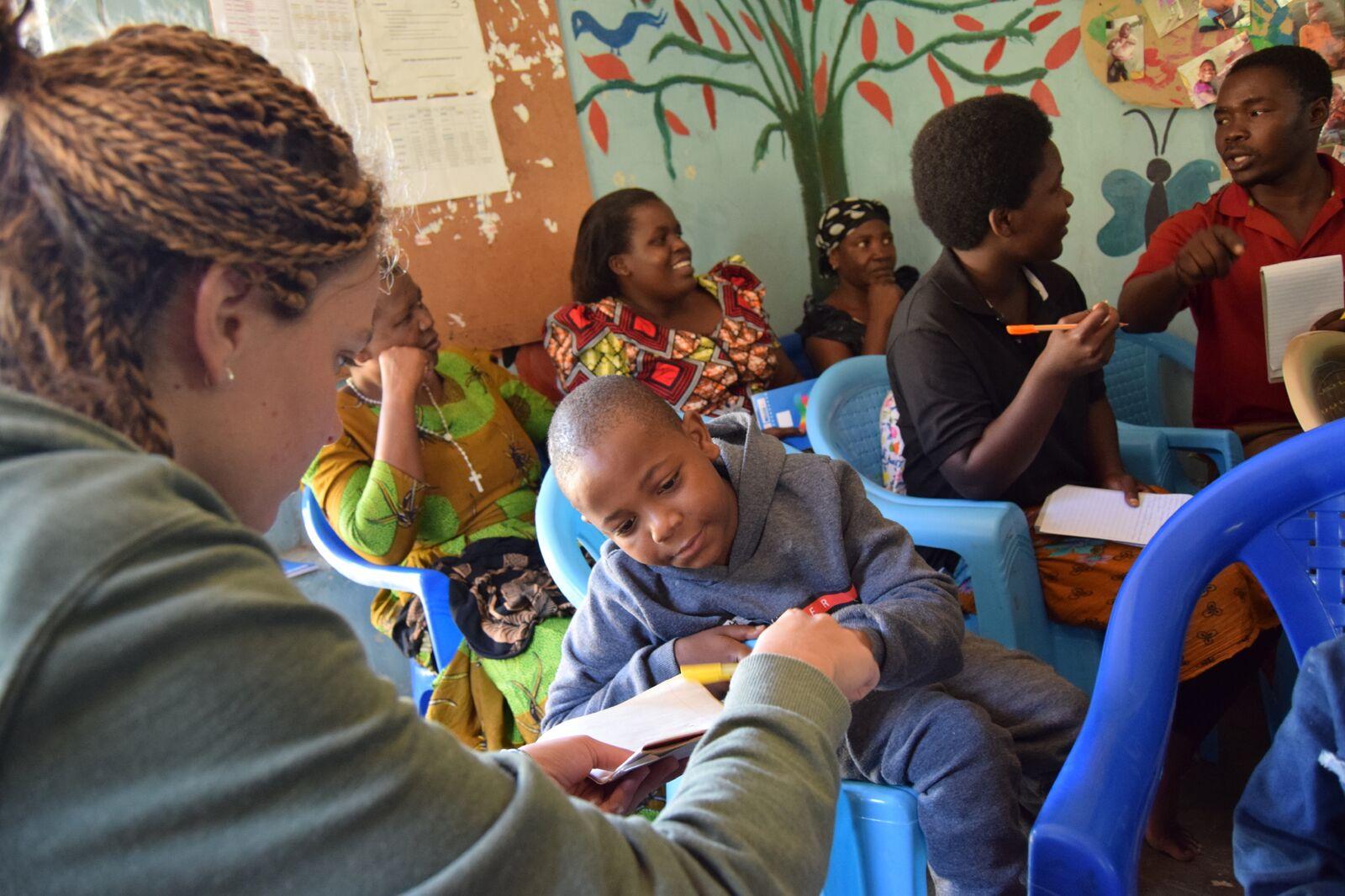 Simama CBR - Tanzania, Caritas Pro Vitae Gradu Charitable Trust, Ariane Slinger