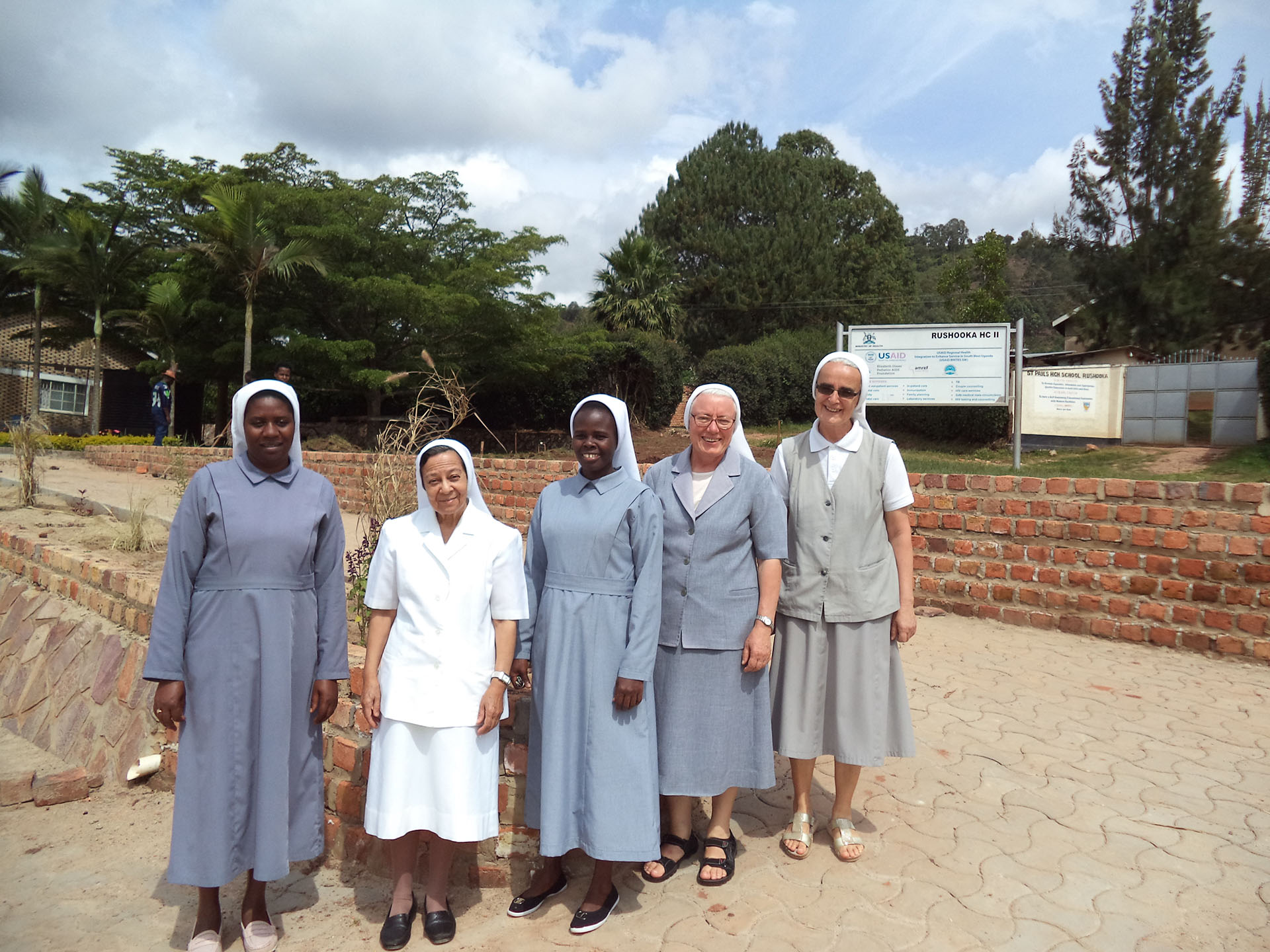 Mother Francisca Lechner Health Unit in Uganda, Caritas Pro Vitae Gradu Charitable Trust, Ariane Slinger